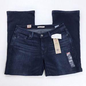 🌿 Levi's Curvy Boot Cut Blue Denim Jeans